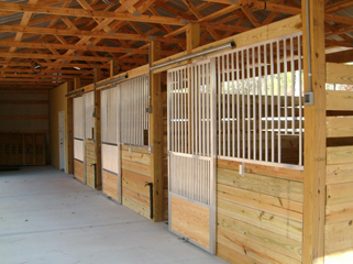 Permitted Construction Plans For Horse Barns Stalls Pole